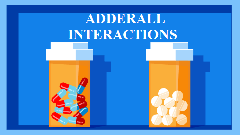 Adderall Interactions
