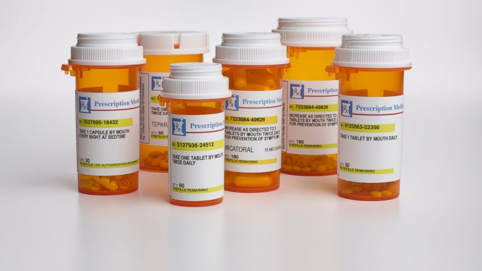 Which are the most prescribed drugs in the States?
